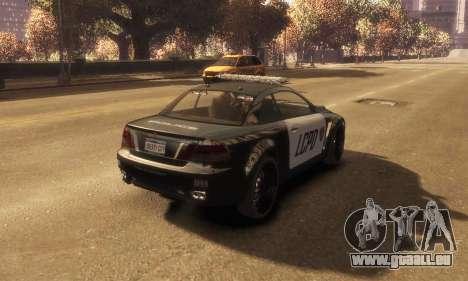 GTA V Ubermacht Sentinel Police [ELS] pour GTA 4 est une gauche