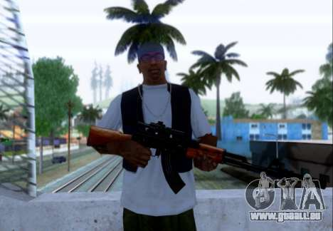 Akmn avec des SEINS pour GTA San Andreas