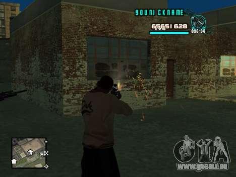 C-HUD Cosmos pour GTA San Andreas troisième écran