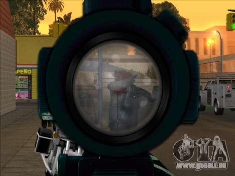 Sniper Skope Mod FIX pour GTA San Andreas troisième écran