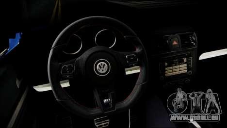 Volkswagen Jetta 2015 pour GTA San Andreas vue de droite