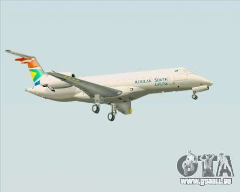 Embraer ERJ-135 South African Airlink für GTA San Andreas rechten Ansicht