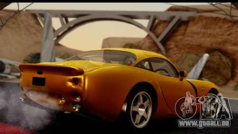 TVR Tuscan S 2001 für GTA San Andreas linke Ansicht