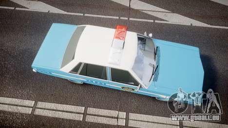 Ford Fairmont 1978 Police v1.1 pour GTA 4 est un droit
