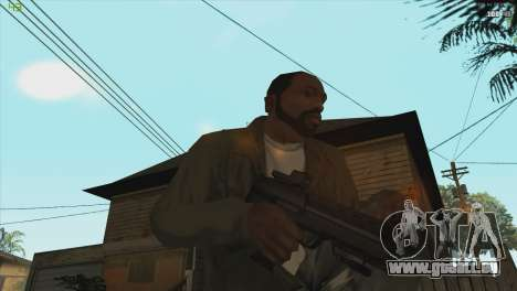 MP7 from Killing floor für GTA San Andreas dritten Screenshot