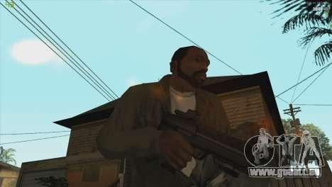 MP7 from Killing floor für GTA San Andreas dritten Screenshot