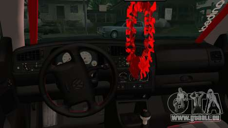 Volkswagen Golf Mk3 Hawaii Style pour GTA San Andreas