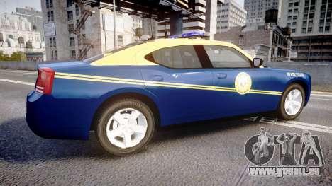 Dodge Charger West Virginia State Police [ELS] für GTA 4 linke Ansicht