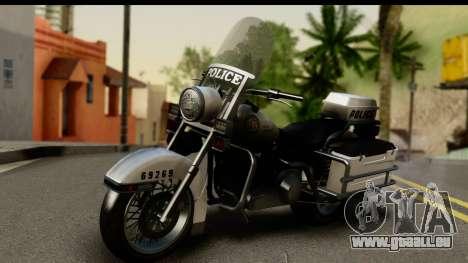 Police Bike GTA 5 pour GTA San Andreas