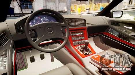 BMW E31 850CSi 1995 [EPM] für GTA 4 Innenansicht