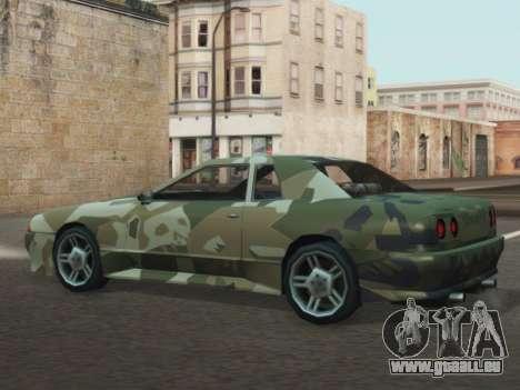 Elegy GTR pour GTA San Andreas vue de droite