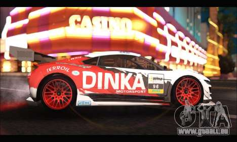 Dinka Jester Racear (GTA V) für GTA San Andreas linke Ansicht