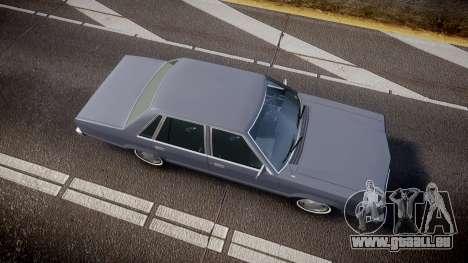 Ford Fairmont 1978 v1.1 pour GTA 4 est un droit