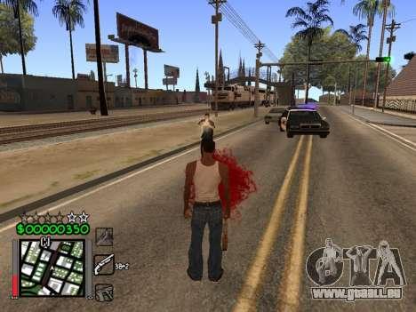 Classic C-HUD 3.4 by Niko für GTA San Andreas dritten Screenshot
