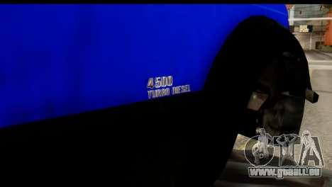 GTA 5 Vapid Sandking SWB IVF pour GTA San Andreas vue de droite