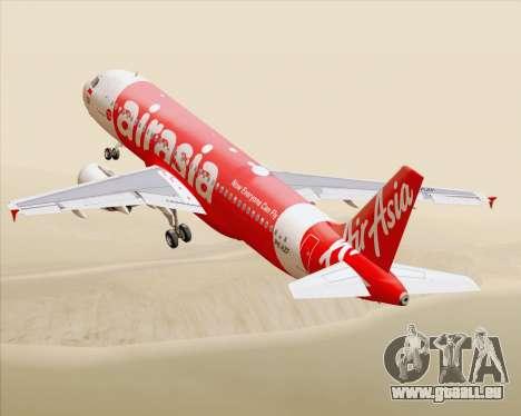 Airbus A320-200 Indonesia AirAsia pour GTA San Andreas salon