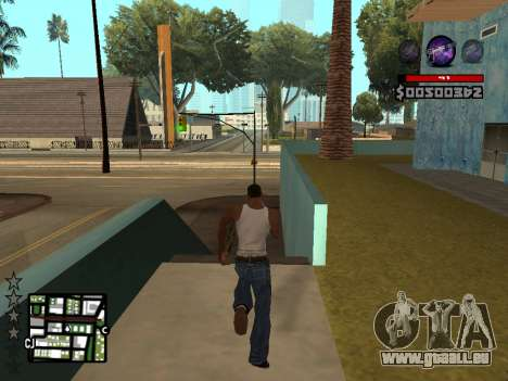 C-HUD by Granto pour GTA San Andreas quatrième écran