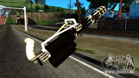 New Minigun pour GTA San Andreas deuxième écran
