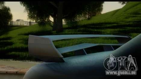New Elegy Editons pour GTA San Andreas vue de droite