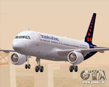 Airbus A320-200 Brussels Airlines pour GTA San Andreas salon
