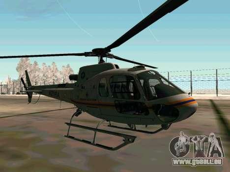 Bo 105 EMERCOM de Russie pour GTA San Andreas vue de droite