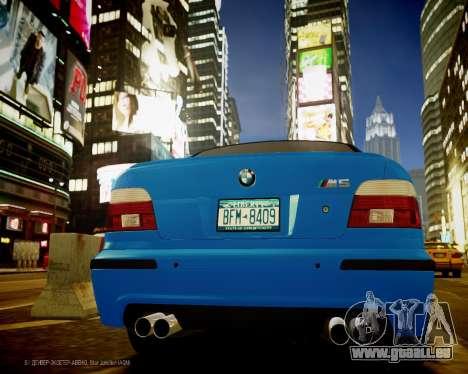 BMW M5 E39 pour GTA 4 est un droit