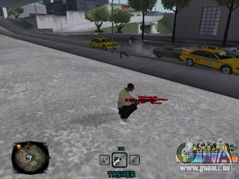 C-HUD Color Tasher pour GTA San Andreas