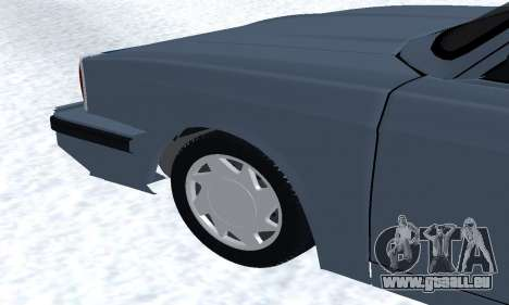 Peykan Separ Joshan 1600 für GTA San Andreas Innen