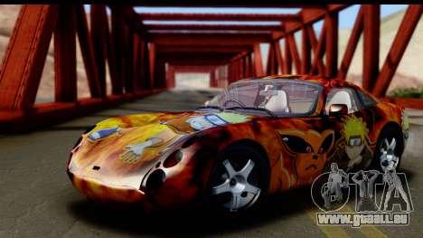 TVR Tuscan S 2001 für GTA San Andreas Unteransicht