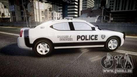 Dodge Charger 2006 Sheriff Dukes [ELS] pour GTA 4 est une gauche