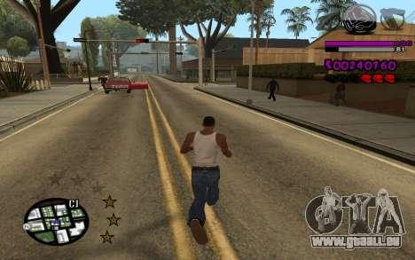 C-HUD by LoMoKo für GTA San Andreas zweiten Screenshot