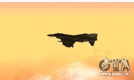 F-4 Vietnam War Camo pour GTA San Andreas vue arrière