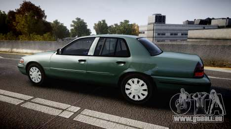 Ford Crown Victoria Police Interceptor [ELS] für GTA 4 linke Ansicht