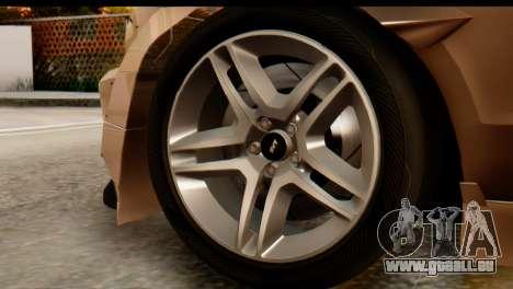 Ford Shelby GT500 RocketBunny pour GTA San Andreas vue de droite