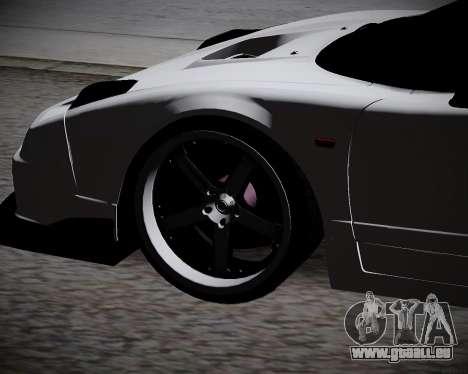 Honda NSX 2015 pour GTA San Andreas vue de droite