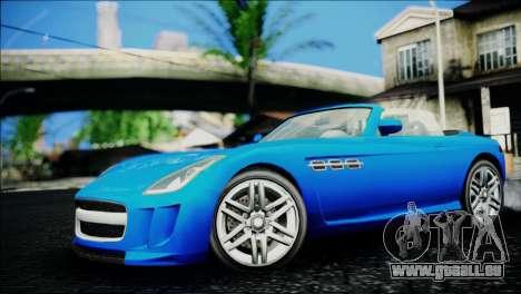 Benefactor Surano IVF für GTA San Andreas