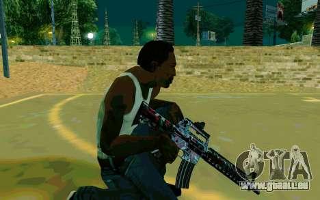 M4A1 (Looney) pour GTA San Andreas quatrième écran