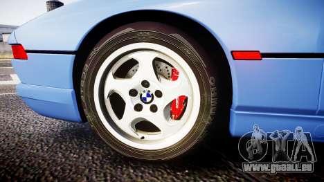 BMW E31 850CSi 1995 [EPM] für GTA 4 Rückansicht