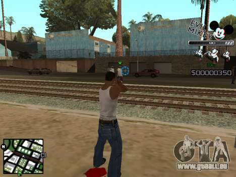 C-HUD Evil Mickey pour GTA San Andreas