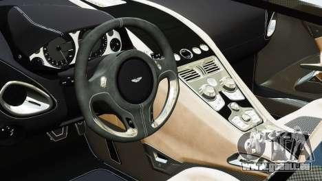 Aston Martin One-77 2010 [EPM] pour GTA 4 Vue arrière de la gauche