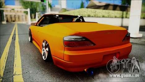 Nissan Silvia S15 Varietta pour GTA San Andreas laissé vue