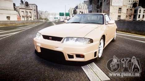 Nissan Skyline R33 GT-R V.spec 1995 für GTA 4