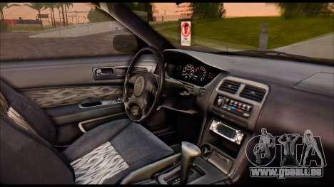 Nissan Silvia S14 Civilian für GTA San Andreas zurück linke Ansicht