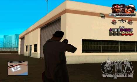 C-HUD Will für GTA San Andreas dritten Screenshot