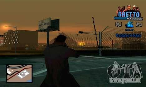 C-HUD Gangster pour GTA San Andreas troisième écran