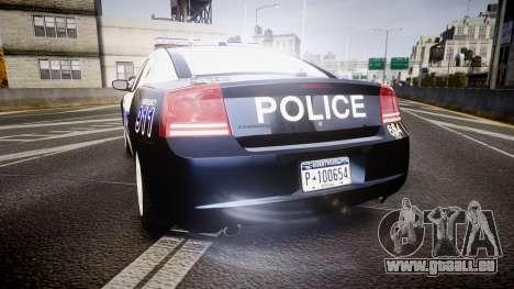 Dodge Charger 2006 Algonquin Police [ELS] für GTA 4 hinten links Ansicht
