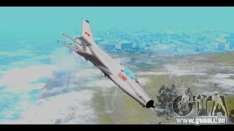 MIG-21 China Air Force für GTA San Andreas
