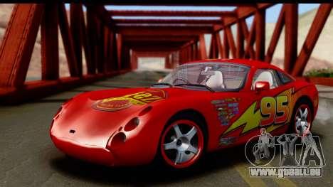 TVR Tuscan S 2001 für GTA San Andreas Innenansicht