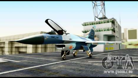 F-16 Aggressor Alaska für GTA San Andreas