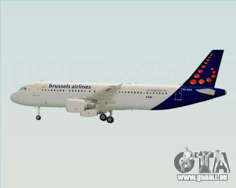 Airbus A320-200 Brussels Airlines pour GTA San Andreas moteur